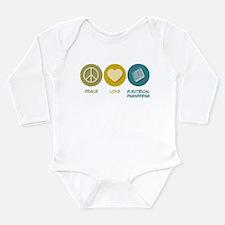 Cute Electrical engineering Long Sleeve Infant Bodysuit