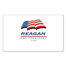 2008 Election Candidates Rectangle Decal