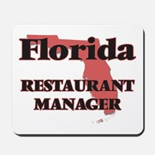 Florida Restaurant Manager Mousepad