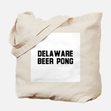 Delaware Beer Pong Tote Bag