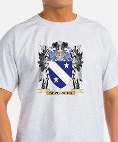 Sepulveda Coat of Arms - Family Crest T-Shirt