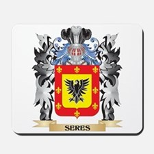 Seres Coat of Arms - Family Crest Mousepad