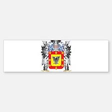 Seres Coat of Arms - Family Crest Bumper Bumper Bumper Sticker