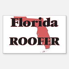 Florida Roofer Decal