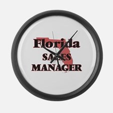 Florida Sales Manager Large Wall Clock
