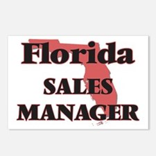 Florida Sales Manager Postcards (Package of 8)