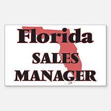 Florida Sales Manager Decal