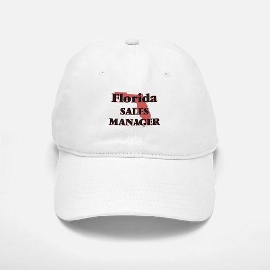 Florida Sales Manager Baseball Baseball Cap