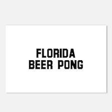 Florida Beer Pong Postcards (Package of 8)