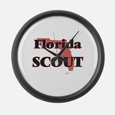 Florida Scout Large Wall Clock