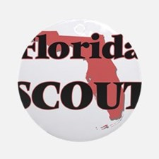 Florida Scout Round Ornament