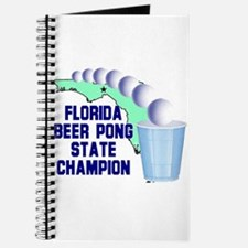 Florida Beer pong State Champ Journal