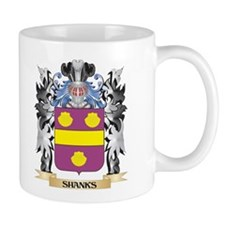 Shanks Coat of Arms - Family Crest Mugs