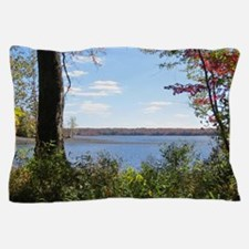 Reservoir Nature Scenery Pillow Case