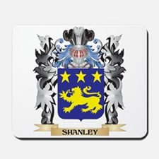 Shanley Coat of Arms - Family Crest Mousepad