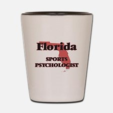 Florida Sports Psychologist Shot Glass