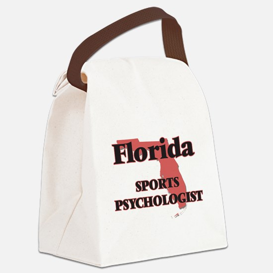 Florida Sports Psychologist Canvas Lunch Bag