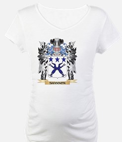 Shannon Coat of Arms - Family Cr Shirt