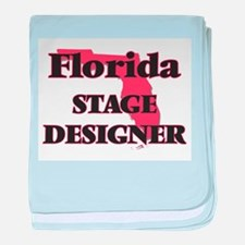 Florida Stage Designer baby blanket