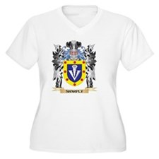 Sharply Coat of Arms - Family Cr Plus Size T-Shirt