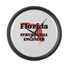 Florida Structural Engineer Large Wall Clock