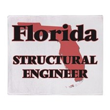 Florida Structural Engineer Throw Blanket