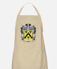 Shaw- Coat of Arms - Family Crest Apron