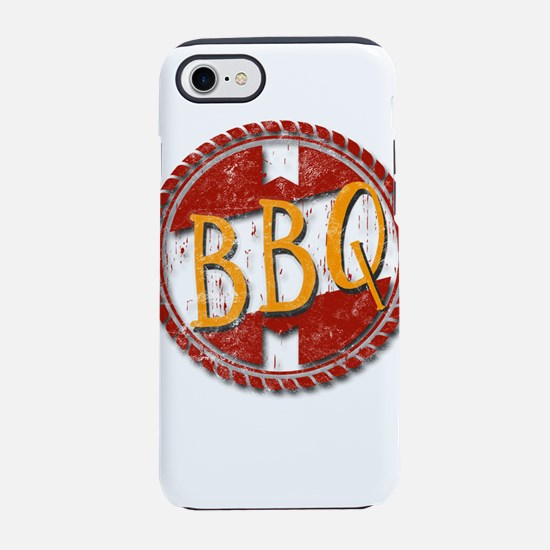 Cute Bbq pork butt iPhone 8/7 Tough Case