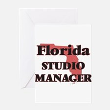 Florida Studio Manager Greeting Cards