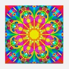 Cute Vivid Tile Coaster