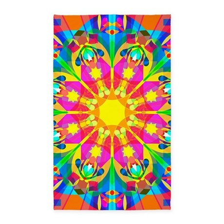 Captivating Cute Trippy Area Rug