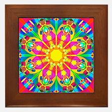Mandala Framed Tile