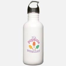 Popsicle Weather Water Bottle