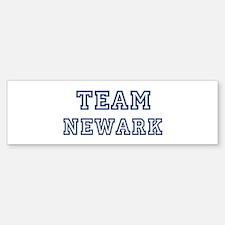 Team Newark Bumper Bumper Bumper Sticker