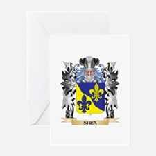 Shea Coat of Arms - Family Crest Greeting Cards