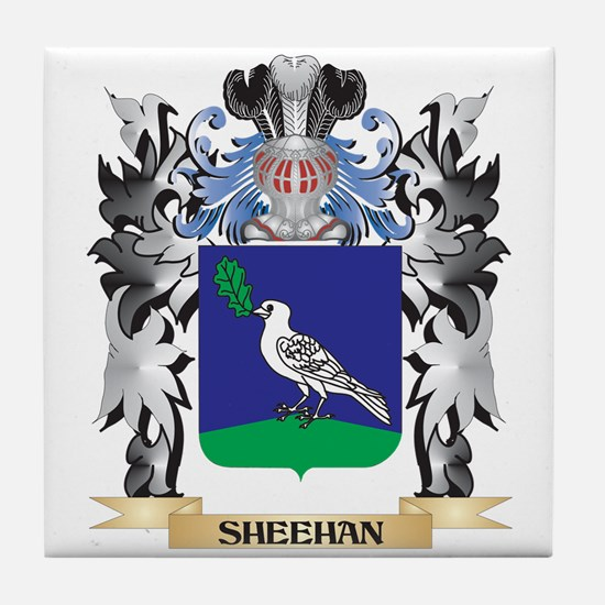 Sheehan Coat of Arms - Family Crest Tile Coaster