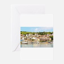 Beauty From Greece Greeting Cards