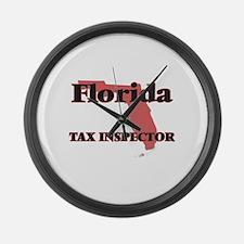 Florida Tax Inspector Large Wall Clock