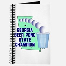 Georgia Beer Pong State Champ Journal