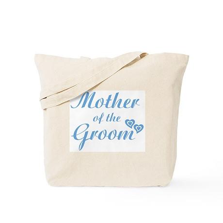 Mother of Groom Blue Tote Bag