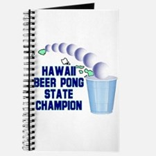 Hawaii Beer Pong State Champi Journal