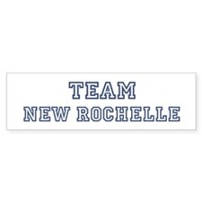 Team New Rochelle Bumper Bumper Sticker