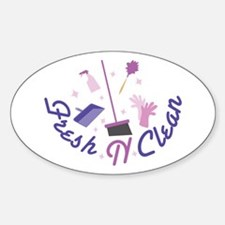 Fresh n Clean Decal