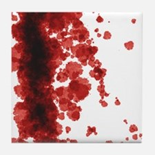 Bloody Mess Tile Coaster