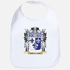 Sherlock Coat of Arms - Family Crest Bib