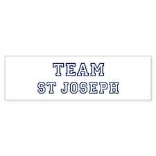 Team St Joseph Bumper Bumper Sticker