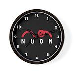 NUON Logo Wall Clock
