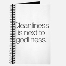 CLEANLINESS IS NEXT TO GODLINESS Journal
