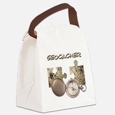 Geocacher Canvas Lunch Bag