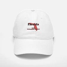 Florida Waste Management Officer Baseball Baseball Cap